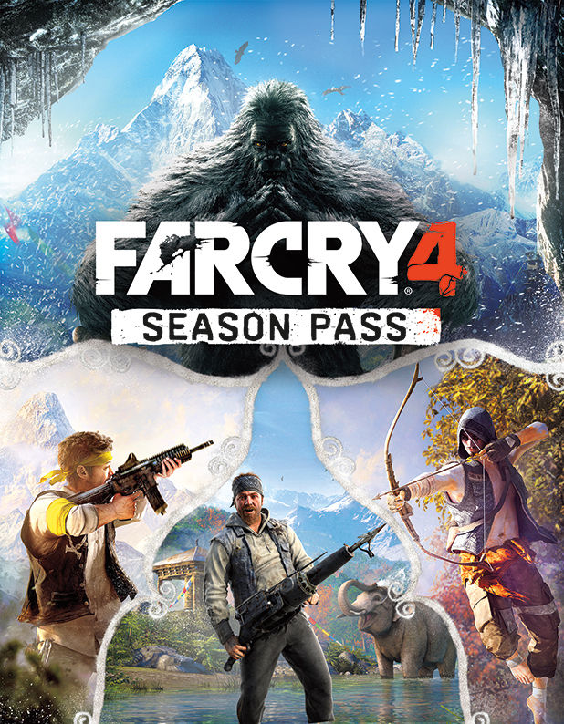 z Far Cry 4 Season Pass (Uplay) RU/CIS