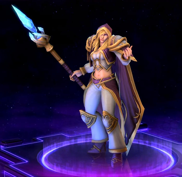 Heroes of the Storm - Jaina Proudmoore Hero(Battle.net)