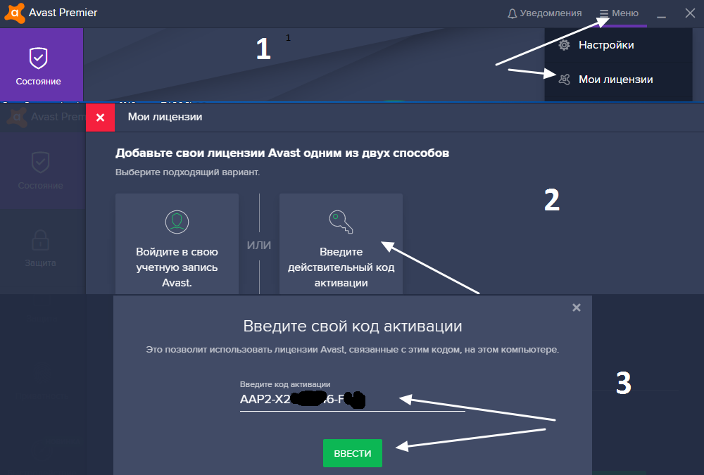 Avast Premier 2019 1year/ 1PC key NOT ACTIVATED