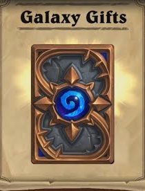 7 Hearthstone Expert Pack (35 cards) + Galaxy Shirt