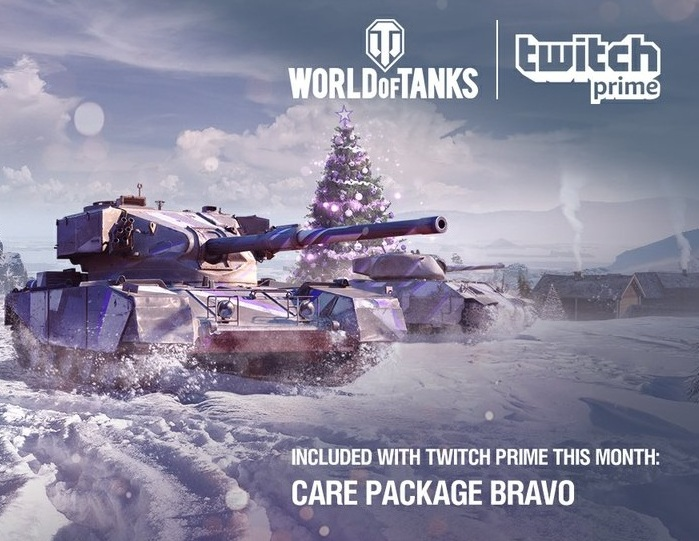 Twitch Prime Аккаунт World of Tanks Alpha + Bravo / R6