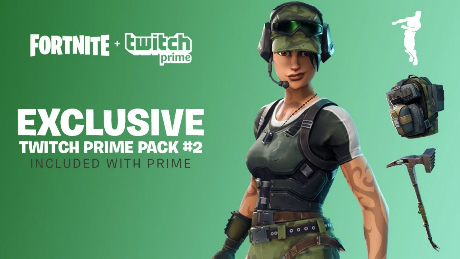 Twitch Prime FORTNITE Pack #2 (PC/PS4/Xbox One)