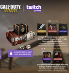 Twitch Prime Call of Duty Ultimate Supply Drop Pack