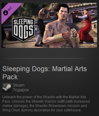 Sleeping Dogs: Martial Arts Pack (Steam Gift / ROW)