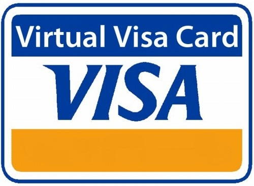 1 $ USD VISA VIRTUAL CARD (RUS Bank). 03/19