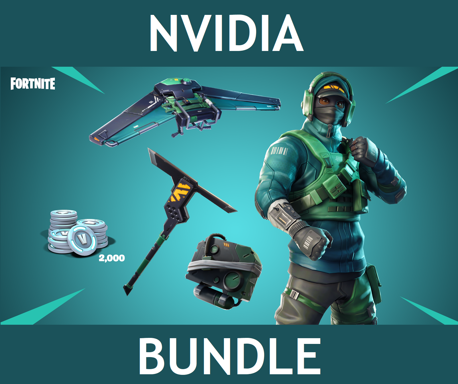 ✅🔥Игровой набор NVIDIA для FORTNITE COUNTERATTACK SET