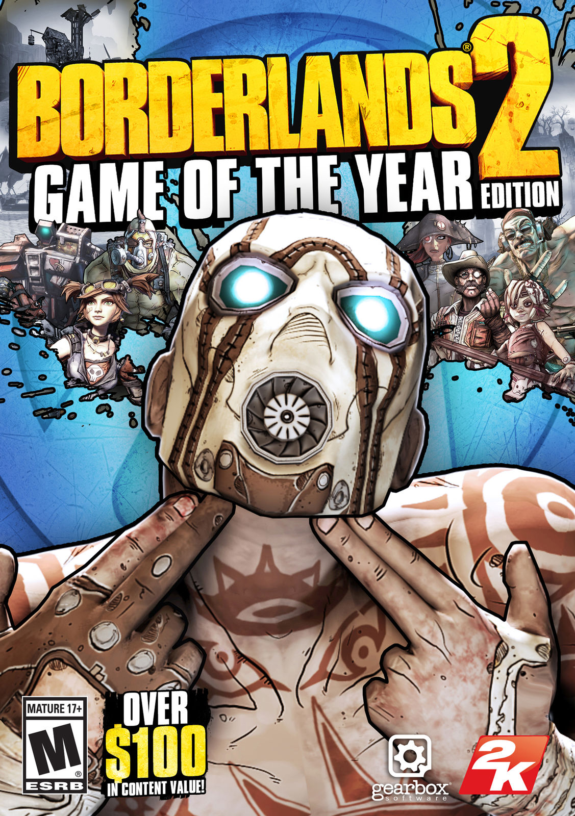 Borderlands 2: Game of the Year Edition- (Steam)