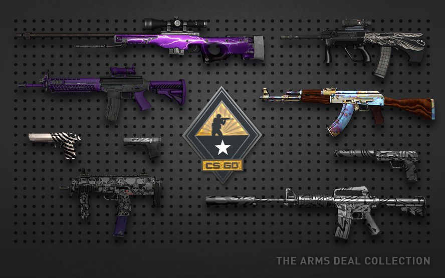 CS: GO random weapon + DISCOUNT + BONUS