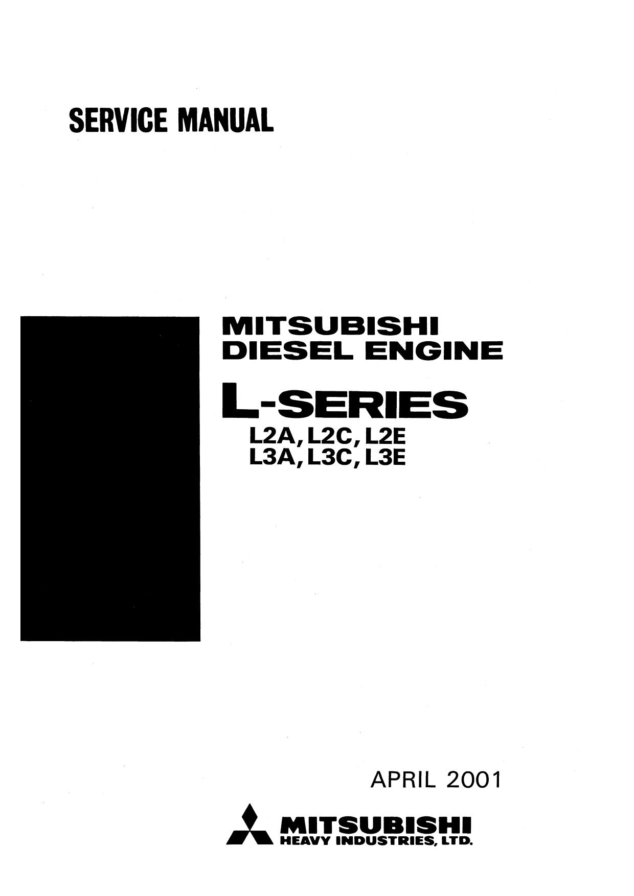 Ремонт и эксплуатация  MITSUBISHI L2(A,B,E), L3(A,B,E)