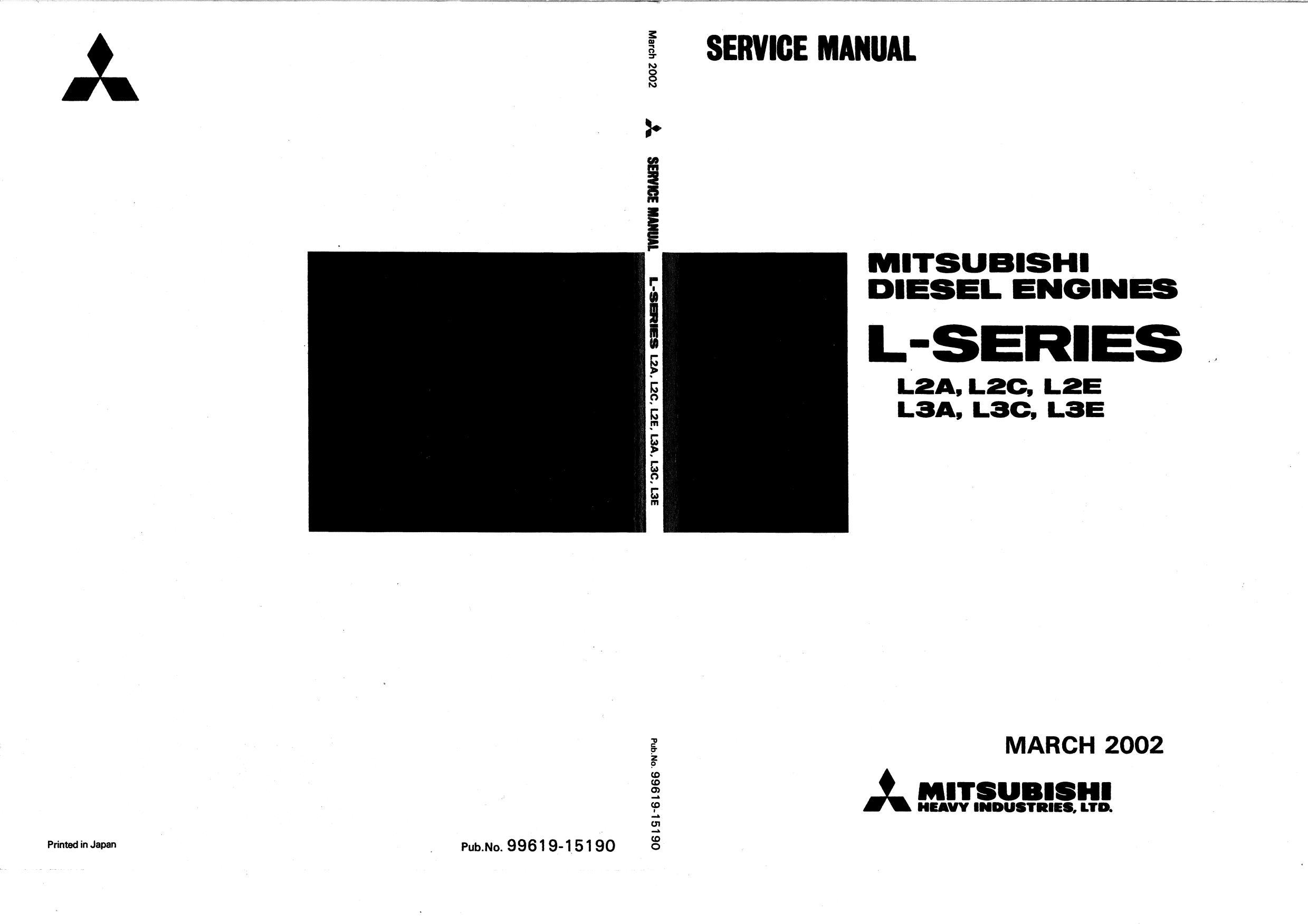 Ремонт и эксплуатация MITSUBISHI L-SERIES
