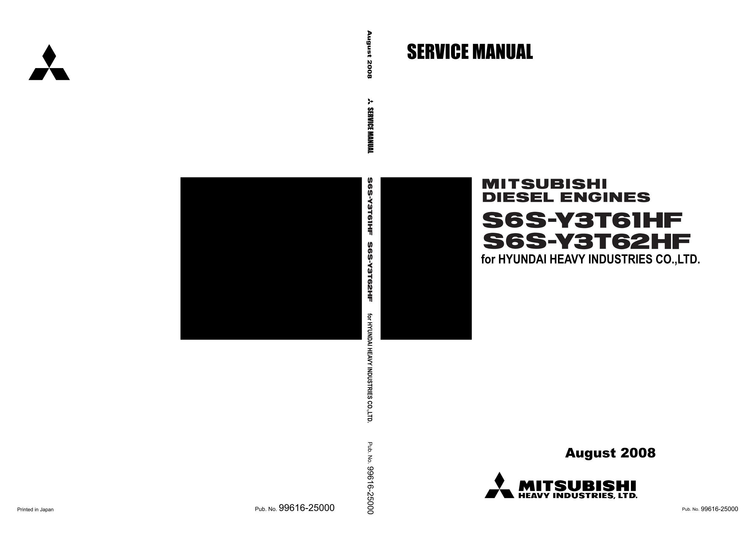 Ремонт и эксплуатация MITSUBISHI S6S-T