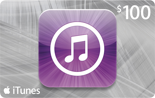 iTUNES GIFT CARD - $100 (USA) 🎵 | DISCOUNTS