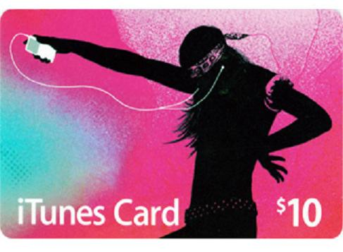 iTUNES GIFT CARD - $10 (USA) | PHOTO | DISCOUNTS