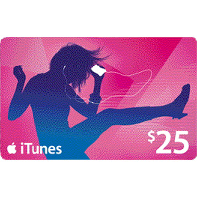 iTUNES GIFT CARD - $25 (USA) | PHOTO | DISCOUNTS