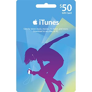 iTUNES GIFT CARD - $50 (USA) | СКАН КАРТЫ | СКИДКИ