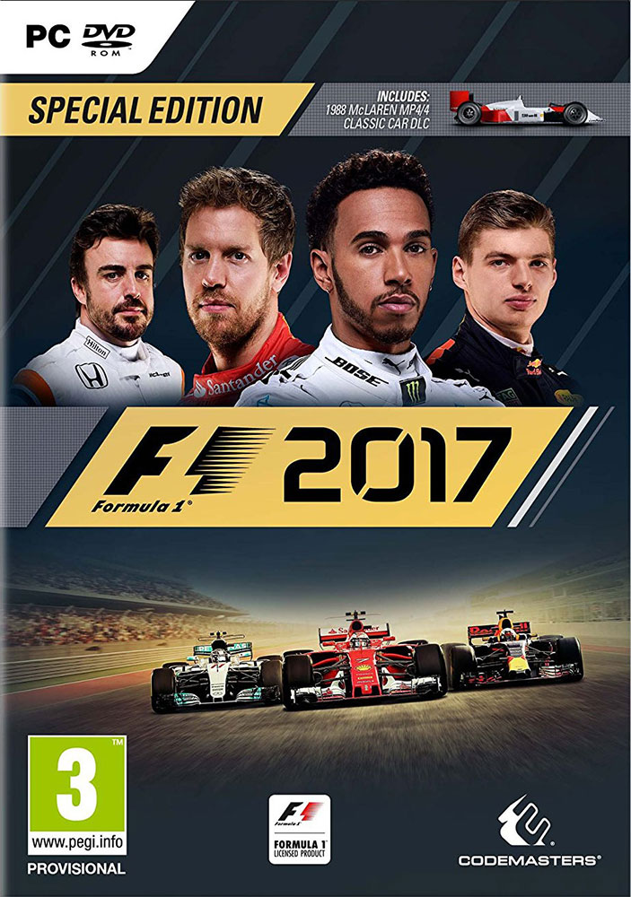 F1 2017 SPECIAL EDITION (+McLaren 1988) + GIFT