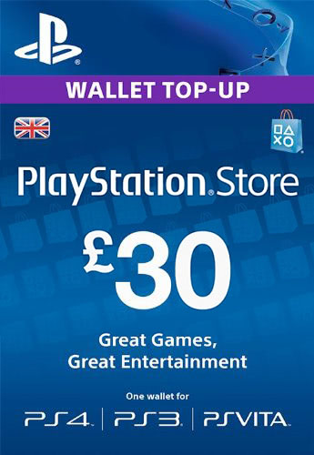 PLAYSTATION NETWORK (PSN) - £30 GBP (UK) 🎮 СКИДКИ