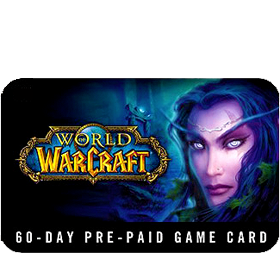 WORLD OF WARCRAFT: TimeCard (60 days, Euro) - SCAN
