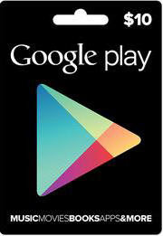 GOOGLE PLAY GIFT CARD $ 10 (USA) | Photo | Discounts