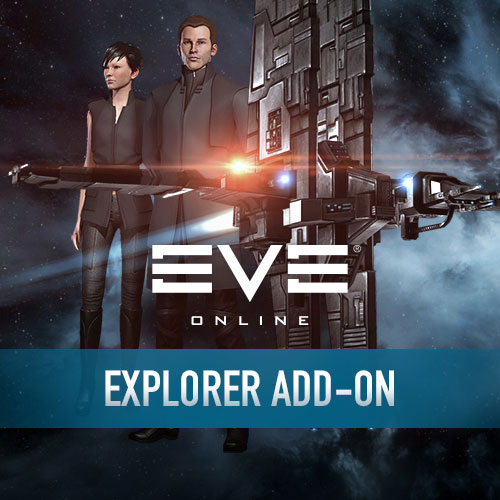 яEVE ONLINE - EXPLORER CAREER ADD-ON - off. Dealer CCP