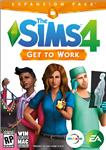 THE SIMS 4: GET TO WORK (НА РАБОТУ) - EXPANSION KEY