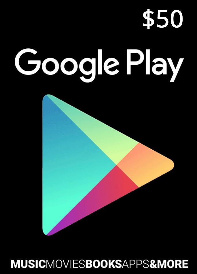 Google Play Gift Card 50$ - USA