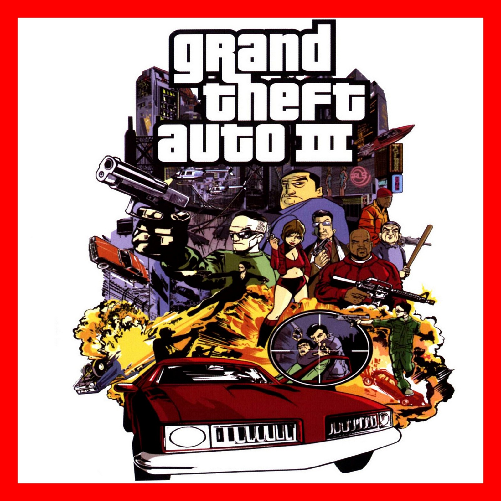 Grand Theft Auto 3 III ( GLOBAL / STEAM KEY )