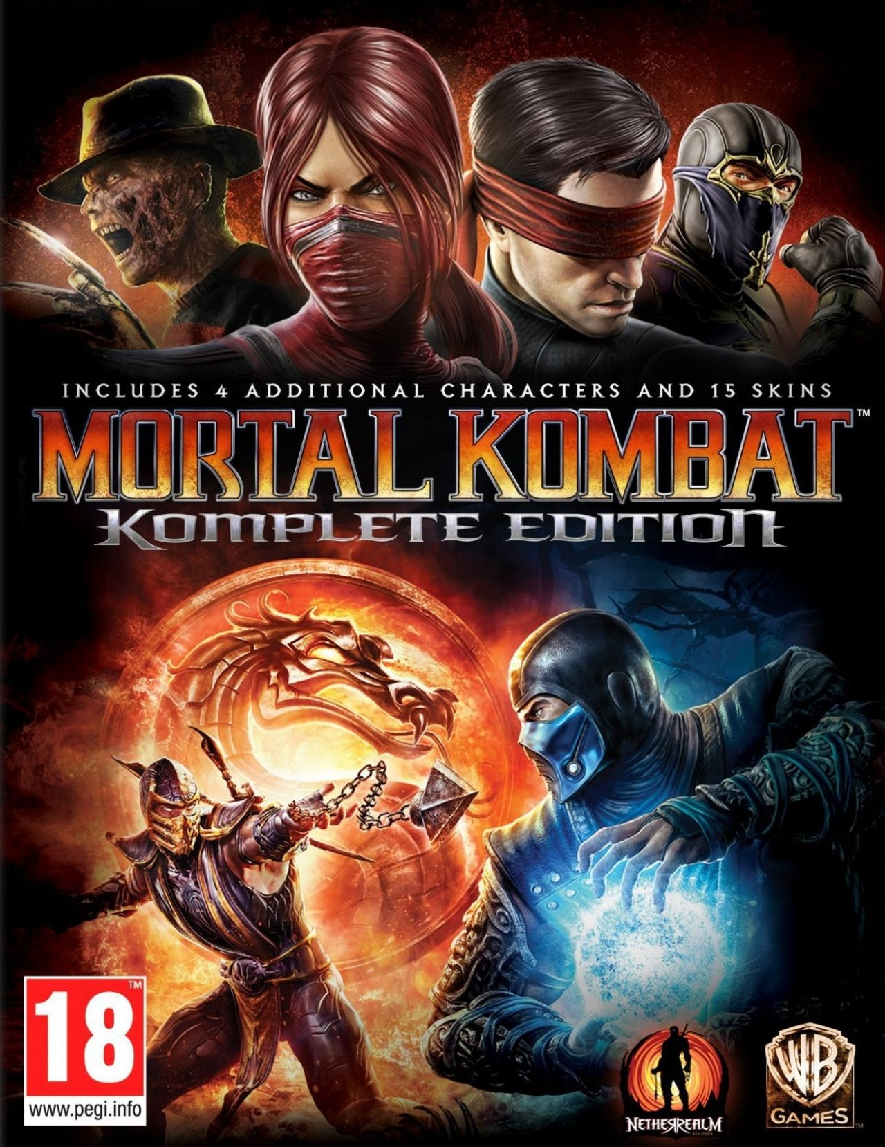 Mortal Kombat Komplete Edition | REGION FREE STEAM KEY