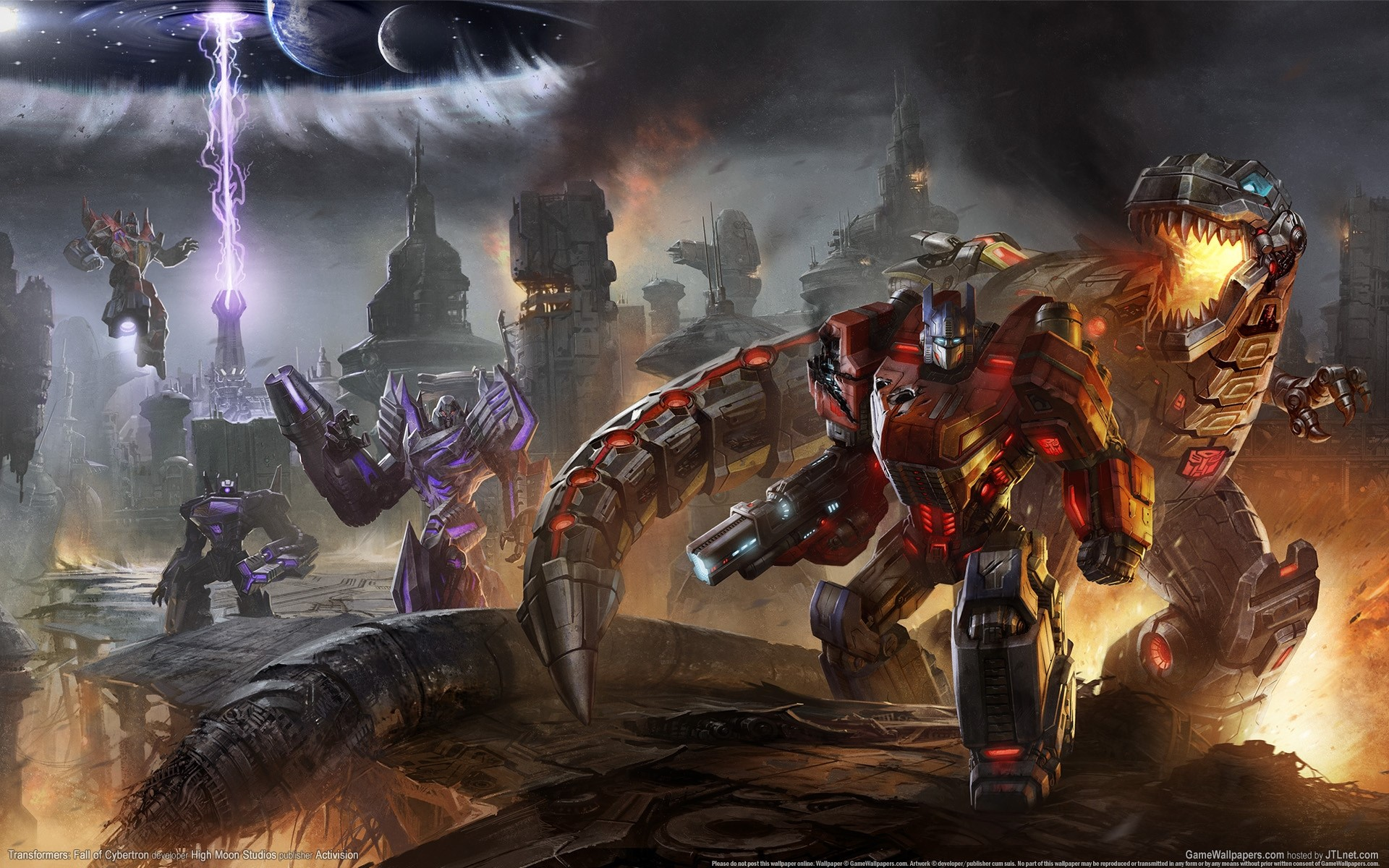 Transformers: Fall of Cybertron (Steam KEY) + Gift