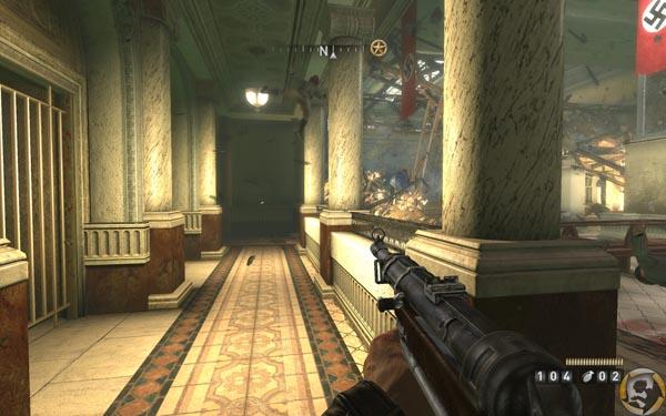 Играя в игре Wolfenstein за агента Бласковица, игроку придется сражаться с