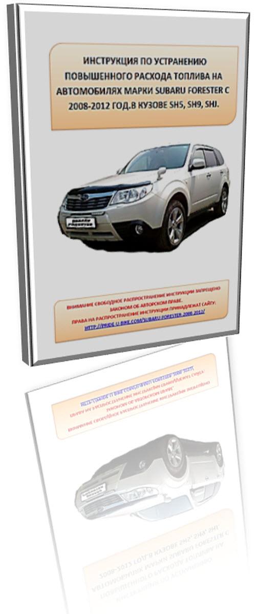 Повышенный расход топлива Subaru Forester SH5 SH9 SHJ