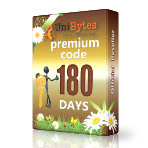Unibytes premium access for 180 days immediately buy
