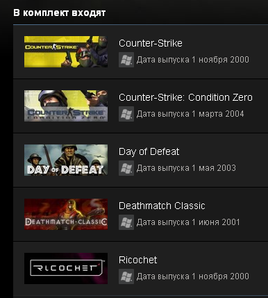 Counter-Strike 1 Anthology (Steam Gift / Region Free)