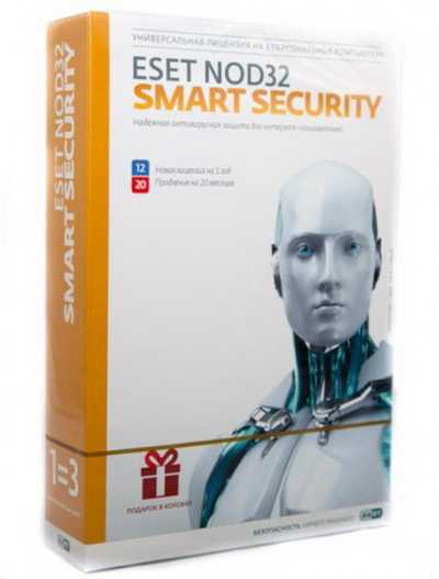 ESET NOD32 Smart Security 1 ПК 1 год Region Free