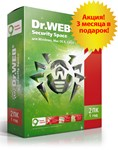 Dr.Web Security Space 15 месяцев 1 ПК