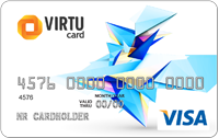 5€ - 2000€ Visa Virtual Card (RUS Bank)