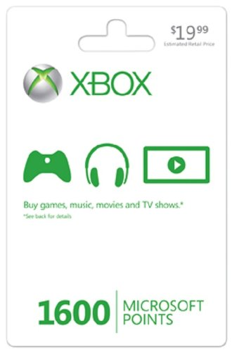 Xbox LIVE 1600 Points (USA) + СКИДКИ