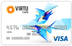 500 RUB VISA Virtual Card (RUS Bank)