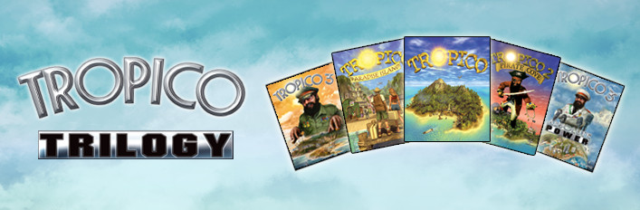 Tropico Trilogy (Steam Gift)