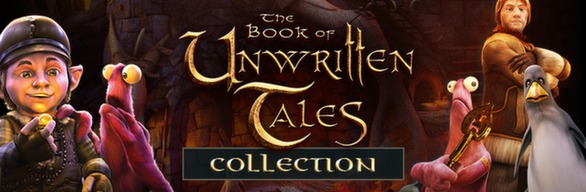 The Book of Unwritten Tales Collection (Steam Gift)