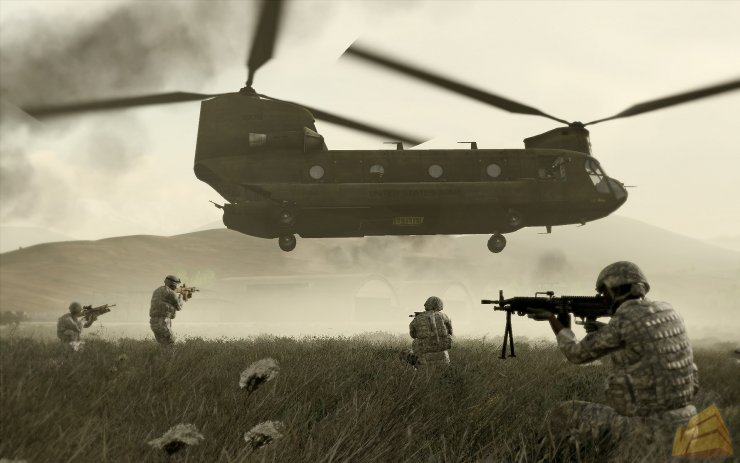ArmA 2 Operation Arrowhead Patch 1.08 1.55 MULTI (2010 ADDON) .