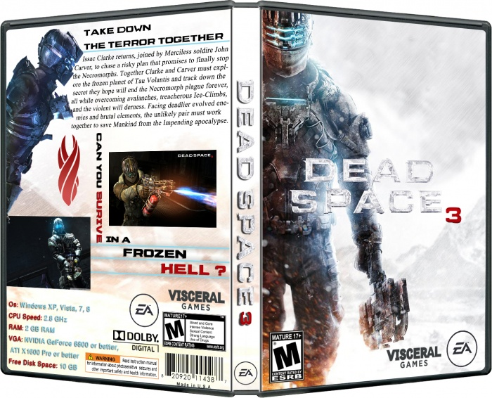 Dead Space 3 (Origin Key - Region Free) + подарок