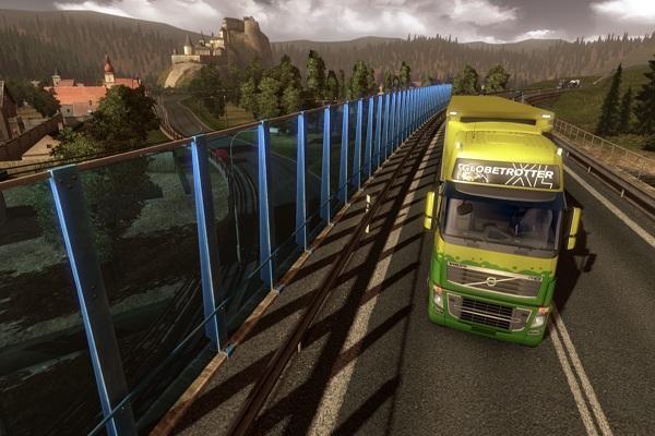Cracker euro truck simulator 2010 La rush ps3 download