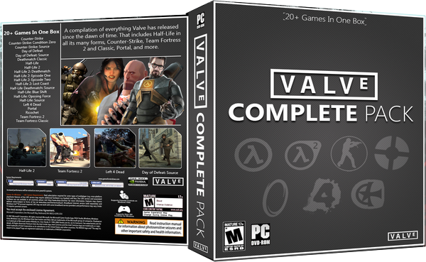 Valve Complete Pack ( Steam Gift / Region Free )