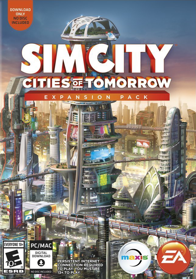 SimCity: Cities of Tomorrow (Origin/Region Free) + GIFT