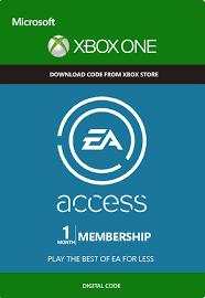 Купить EA ACCESS 1 МЕСЯЦ XBOX ONE (RU/EU/US) REGION FREE