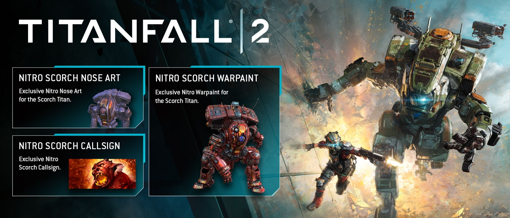 Titanfall 2 - Nitro Scorch Pack (Origin/Region Free)