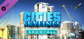 Cities: Skylines - DLC Snowfall (Steam KEY)+GIFT