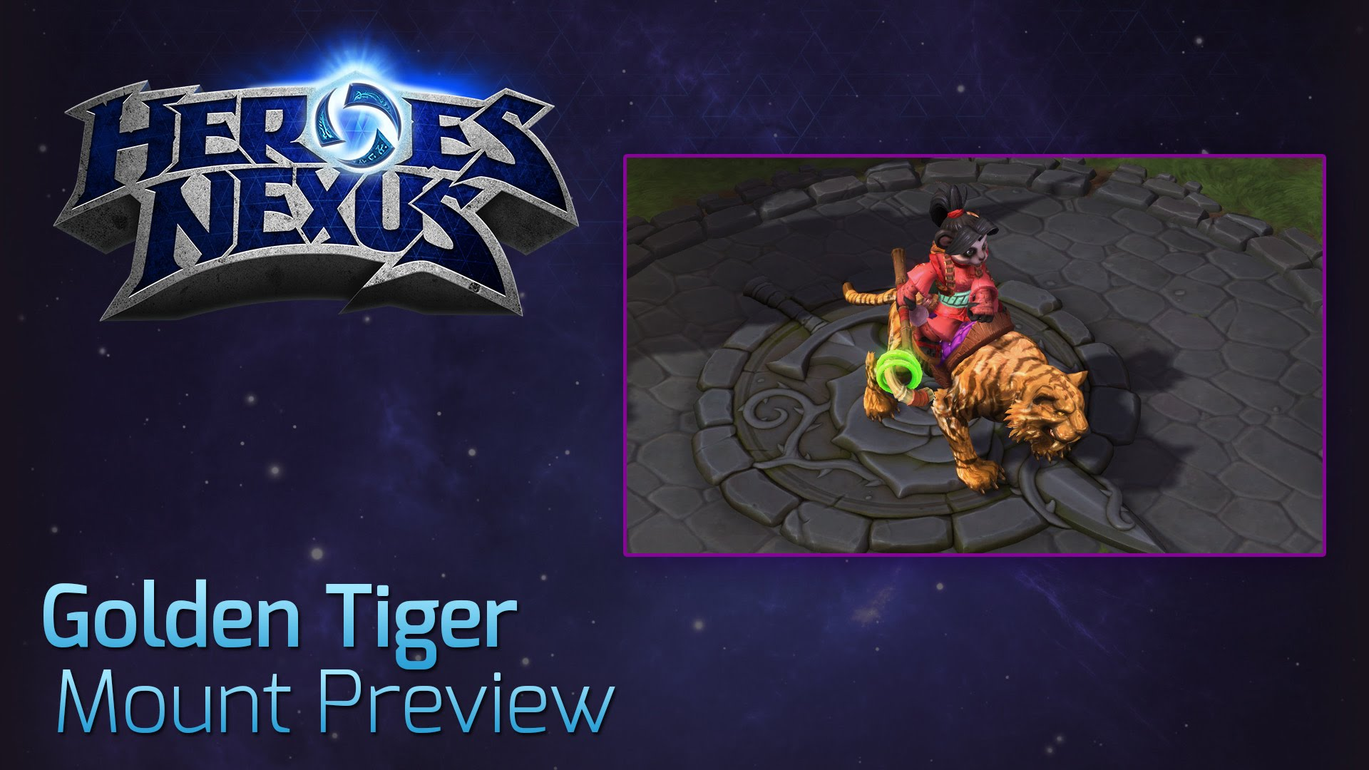 golden tiger mount hots