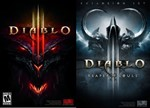 DIABLO 3+DIABLO 3 REAPER OF SOULS ?(BATTLE.NET/GLOBAL)